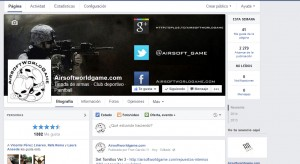 fan page airsoftworldgame
